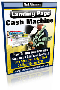 Landing Page Cash Machine by Mark Widawer